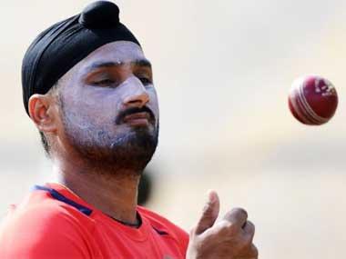 File picture of Harbhajan Singh. AFP