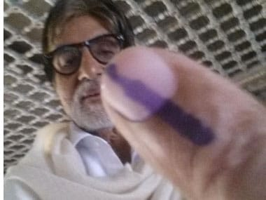 Better a voter selfie than an IPL update: At least it's inclusive