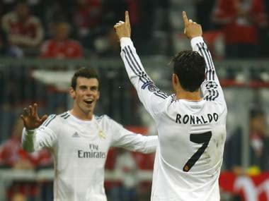 File photo of Gareth Bale and Cristiano Ronaldo. Reuters