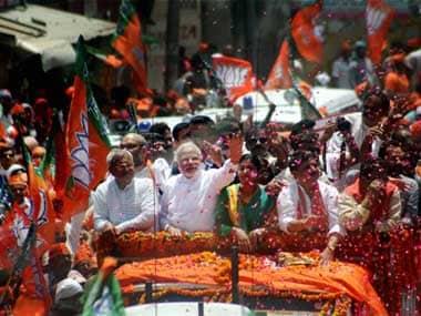Varanasi turns into sea of saffron as Modi files LS nomination