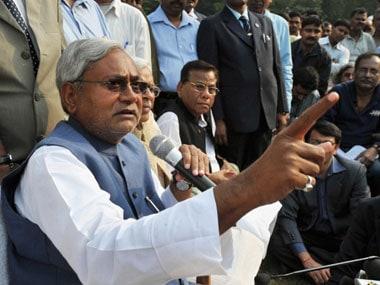 Nitish Kumar. AFP