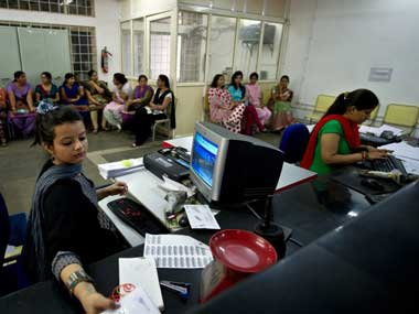 Representational image of a post office in India. AFP