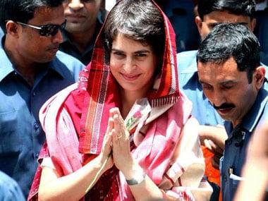 File image of Priyanka Gandhi. AFP
