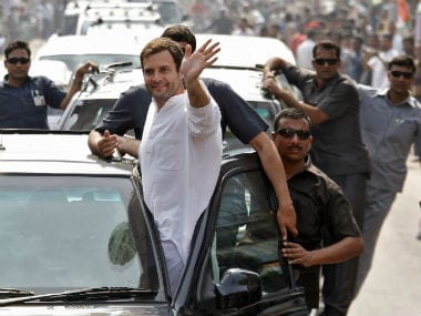 Rahul Gandhi hits back, to hold road show against Modi in Varanasi