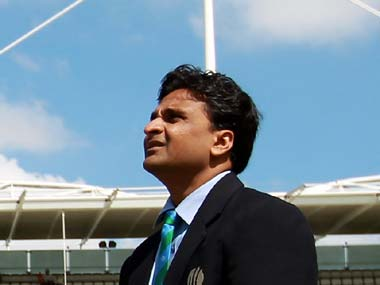 File picture of Javagal Srinath. Getty Images