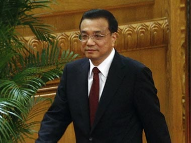 File image of Chinese Premier Li Keqiang. Reuters