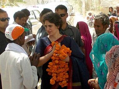 Priyanka Gandhi. PTI