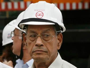 File image of E Sreedharan. Reuters