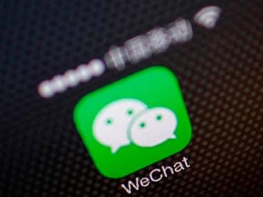 WeChat logo. Image: Reuters