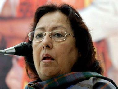 File image of Najma Heptullah. AFP.