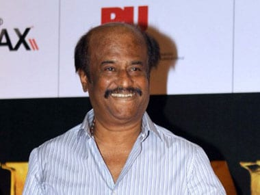 File image of Rajnikanth. AFP