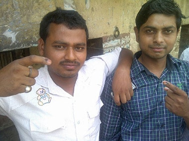 Deepak Agrahari and Vijay Kumar in Ramgarh. Sandip Roy/Firstpost