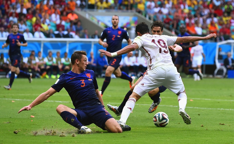 World Cup photos: Netherlands rout Spain 5-1