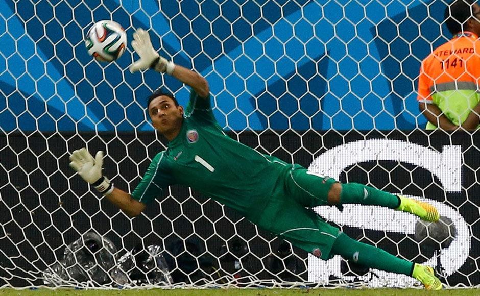 Photos: Goalie Keylor Navas shines as Costa Rica end Greece World Cup hopes - Sports News , Firstpost