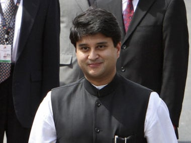 File image of Jyotiraditya Scindia. Reuters