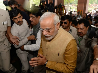 Prime Minister Narendra Modi's top officials are from this little-known think tank. AFP