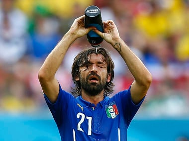 There are two World Cups, one in north and one in south: Pirlo