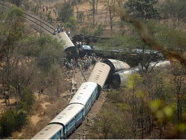 Another train derails in Bihar, Naxal involvement suspected