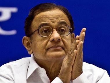 Former Union Home Minister P Chidambaram. AFP