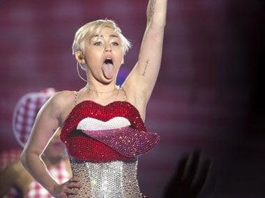 Miley Cyrus. AFP.