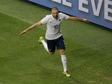France's Karim Benzema has had quite the World cup so far. AP