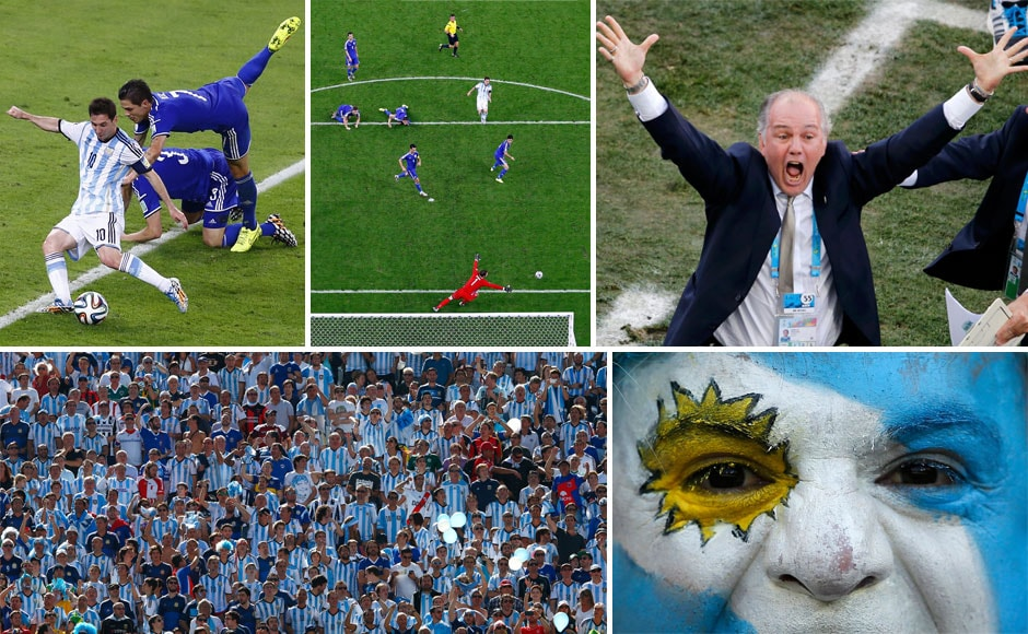FIFA 2014 photos: Argentinas journey to their first World Cup final since 1990