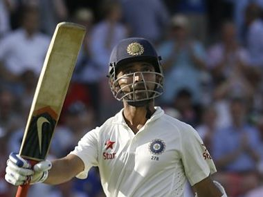 India's Ajinkya Rahane was in superb touch. AP