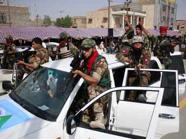 Threatened in Iraq. AFP