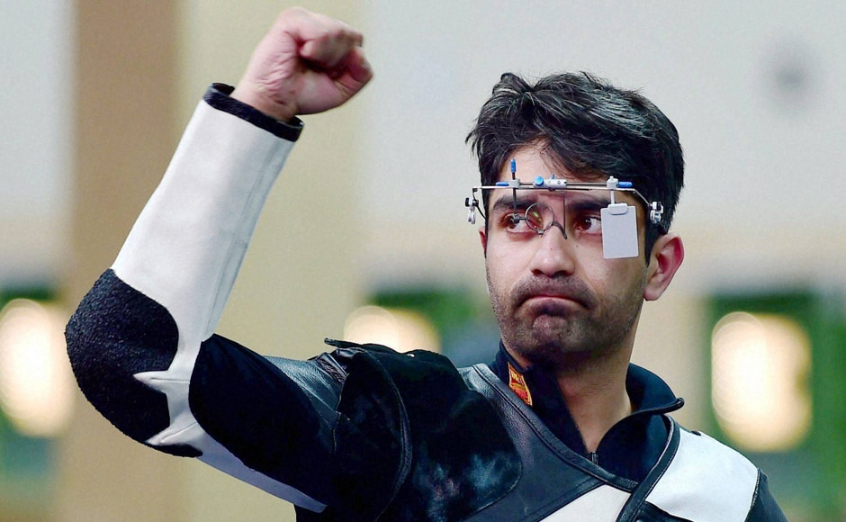CWG 2014 Photos: Bindra clinches gold, Malaika wins silver