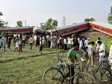 Chhapra Rajdhani derailment caused by suspected sabotage: Rail minister