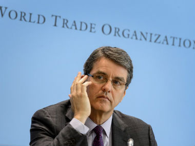 Informal WTO ministerial meeting begins in Delhi. World Trade Organisation director-general Brazil's Roberto Azevedo. AFP