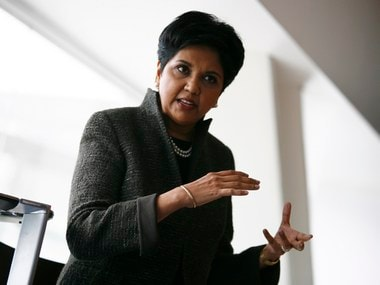 File image of PepsiCo Chairman and Chief Executive Officer Indra Nooyi. Reuters