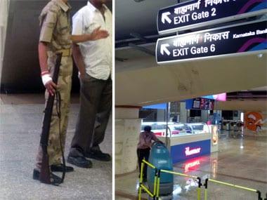 The Mumbai Metro station.