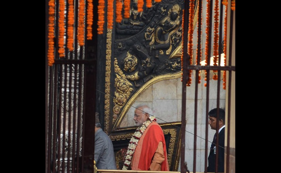 Photos: Feel extremely blessed to offer prayers at Pashupatinath temple, says Modi