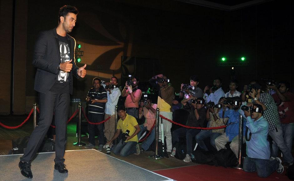 Photos: Ranbir Kapoor teams up with online music company Saavn
