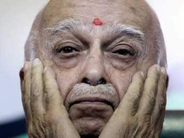 What next for BJP leader LK Advani. PTI