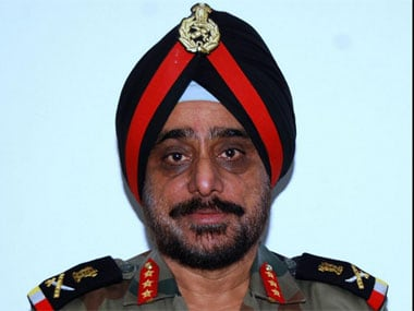Lt Gen KJ Singh. Image courtesy Indian Army