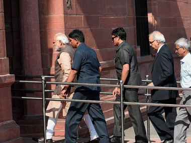 100 days of government: Modi enjoys twice the security cover of his predecessor