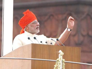 PM Modis I-Day speech: Dont complain, become karma yogis instead