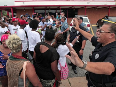 Michael Brown supporters disrupt another govt meeting in Ferguson