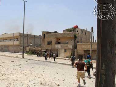 Islamic State jihadists capture military base in Syria