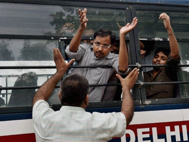UPSC row: Police holding students hostage, allege protesters