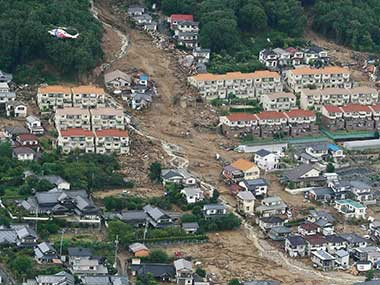 Japan floods: Toll rises to 100, over 60 still unaccounted for in worst-hit Hiroshima