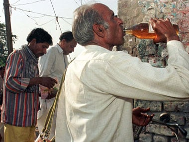 Kerala alcohol problem. Representational image. Agencies.