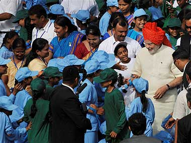 Modi's most poignant I-Day message: We have to focus on how we bring up our boys