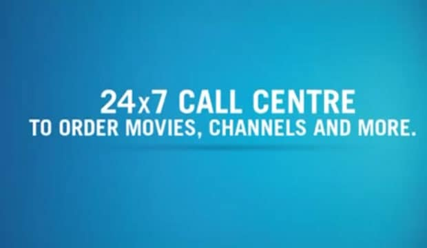A Tata Sky ad promoting its many benefits.