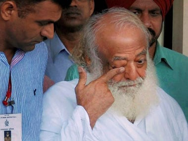 Asaram Bapu's bail plea  was rejected by the Supreme Court. PTI