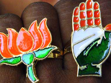 Many rebels from Congress are joining BJP ahead of Maharashtra Assembly polls. Reuters