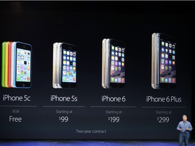Photo of the launch event of the iPhone 6. Reuters image