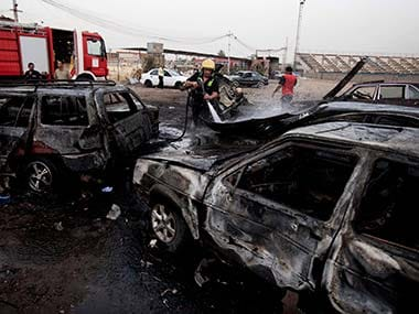 Suicide bomber hits funeral in Iraq, 10 dead